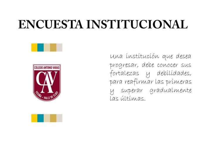 ENCUESTA DE ORGANIZACIÓN COMUNICACIONAL