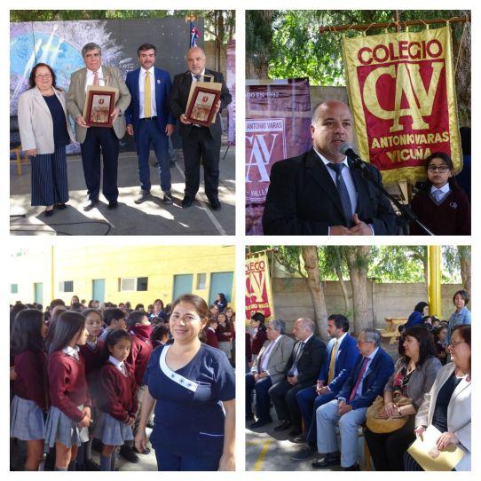 Colegio Antonio Varas inicia año escolar 2019  con la presencia del SEREMI de Educación