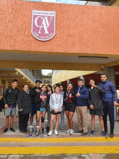 Alumnos Varistas Obtienen Primeros Lugares en Maratón Liceana 2019