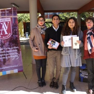 Colegio Antonio Varas Distingue a sus Talentos Literarios