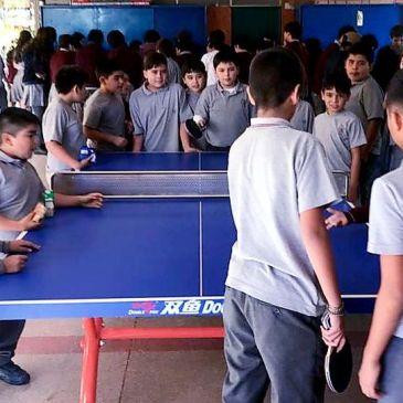 Colegio  Antonio  Varas Adquiere Moderna Implementación Deportiva y de Recreación