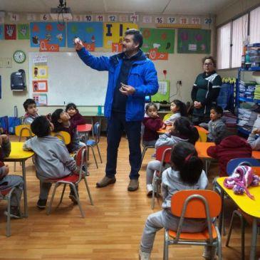Directivos    del    Colegio     Antonio     Varas Prepararon a sus Alumnos ante Eclipse Solar