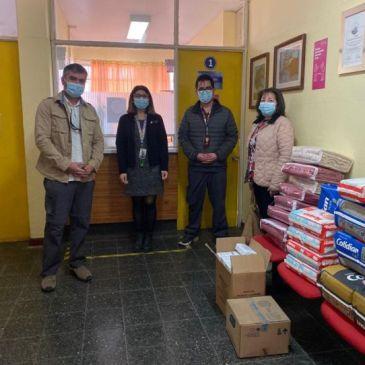 Colegio Antonio Varas entrega  importante donación al Hospital de Vicuña
