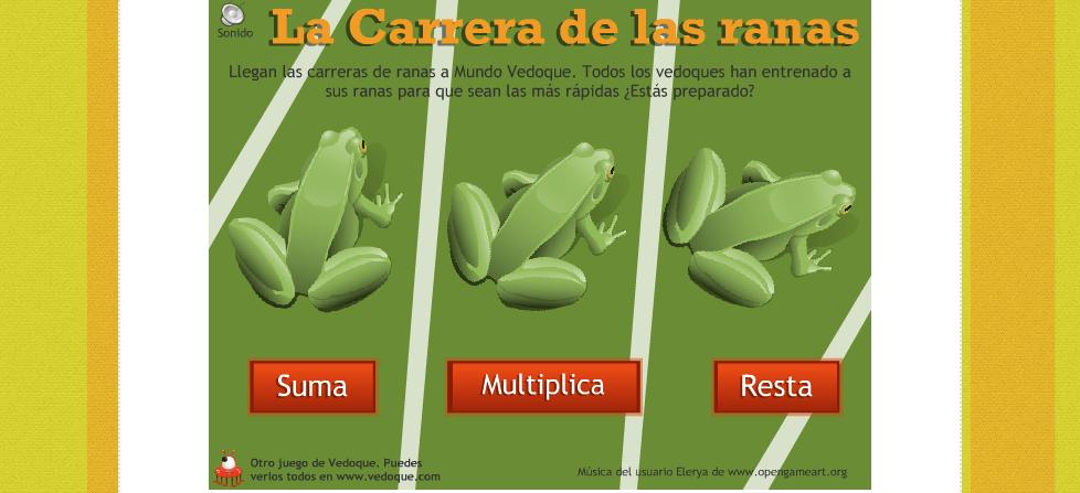 Resultado de imagen de carrera de ranas vedoque