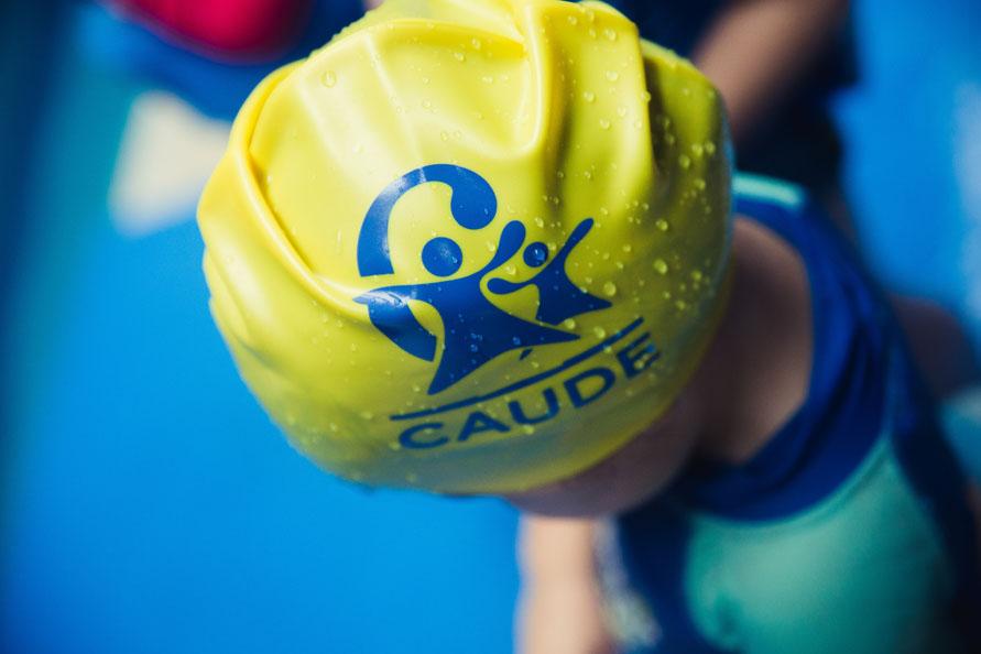 El deporte, un juego de niños en el Colegio Caude