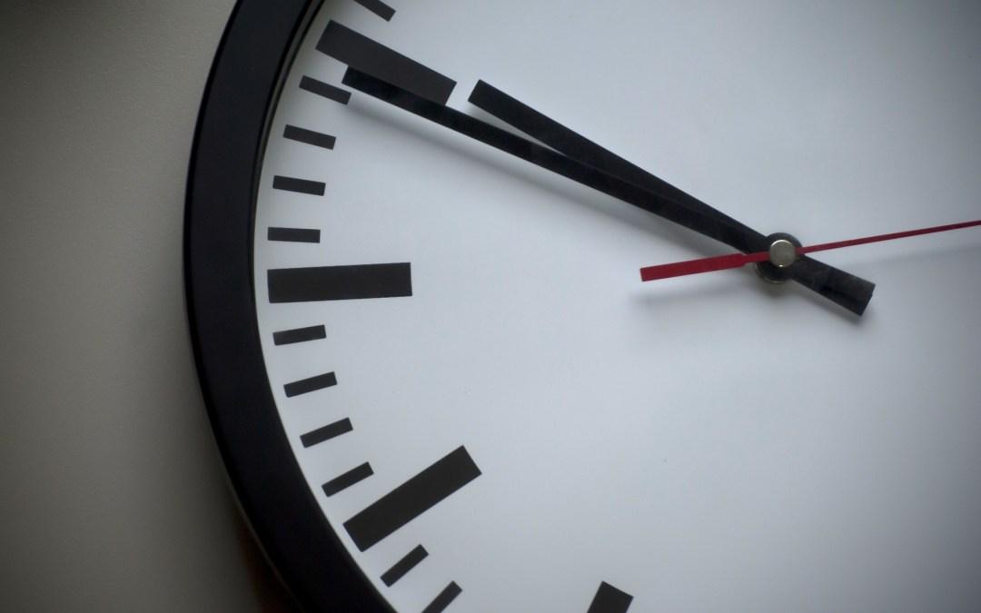 El valor de la puntualidad
