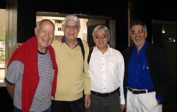 Alfredo Del Mónaco, alcides lanza, Andrés Posada y Alfredo Rugeles. 2006