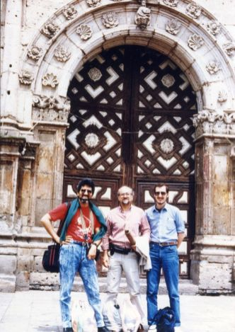 Alfredo Rugeles, Mariano Etkin y Ricardo Dal Farra. México D.F.