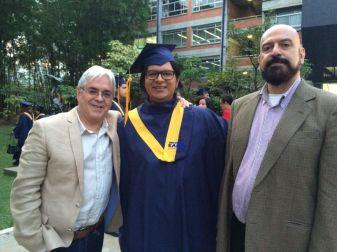 Andrés Posada, Juan David Manco y Fernando Gil. Universidad EAFIT, Medellín
