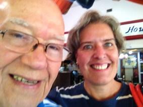 Con mi maestro Alfredo del Mónaco, 2015