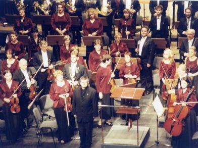 Orquesta Filarmonia de Kielce (Polonia) Director Boris Alvarado