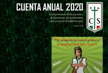 Cuenta Anual 2020 Comisión de Prevención