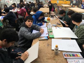 """Alumnos de nuestro colegio destacan en concurso de dibujo y pintura """"Nuestro Mar"""""""