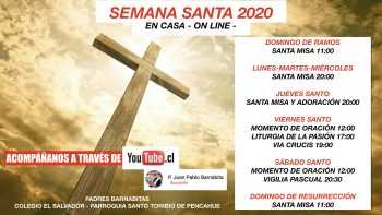 Programa Semana Santa On-line 2020