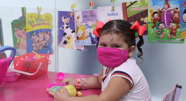 Alegria no retorno às aulas da Educação Infantil: Unidade Maternal está de cara nova