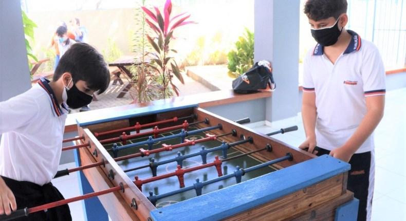 Atividades recreativas marcam comemoração do Dia do Estudante