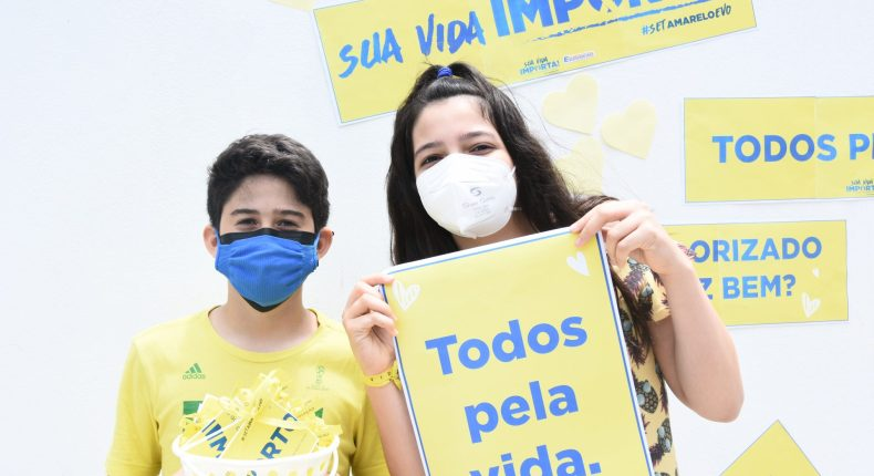 Pit Stop da campanha Sua Vida Importa reforça a importância do Setembro Amarelo