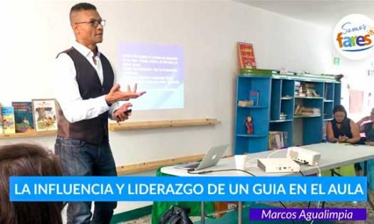 influencia y liderazgo de un guía en el aula