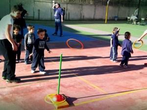 juegos infantiles colegio San Fernando vigo