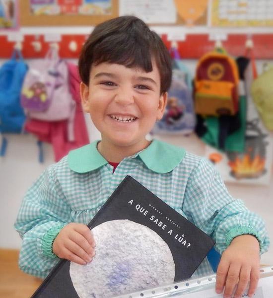 Alumno colegio San Fernando Vigo