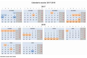 calendario escolar vigo 2017/18