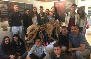 alumnos de ESO colegio San Fernando Vigo