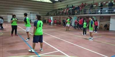 18 de enero. Liga escolar de voleibol