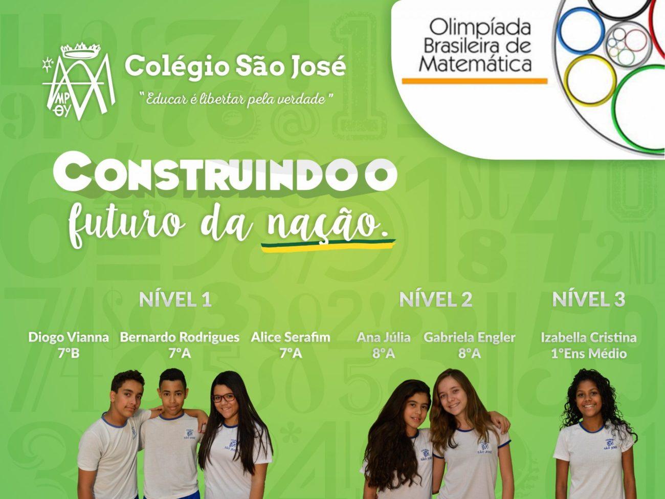 OBM 2016 Olimpíada Brasileira de Matemática