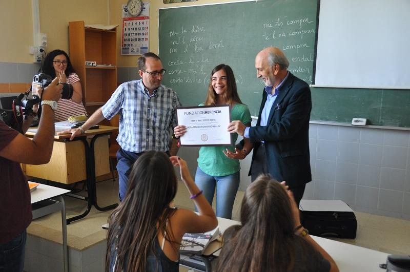 Una alumna de nuestro colegio de Valencia becada para estudiar un año en Estados Unidos.