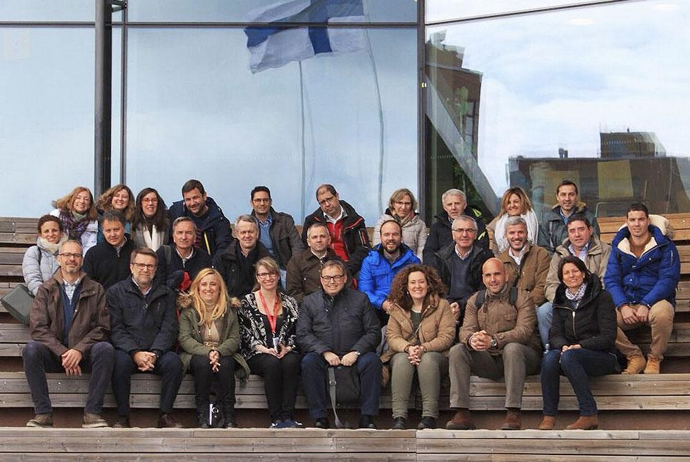 30 directores de nuestra red de colegios en Finlandia