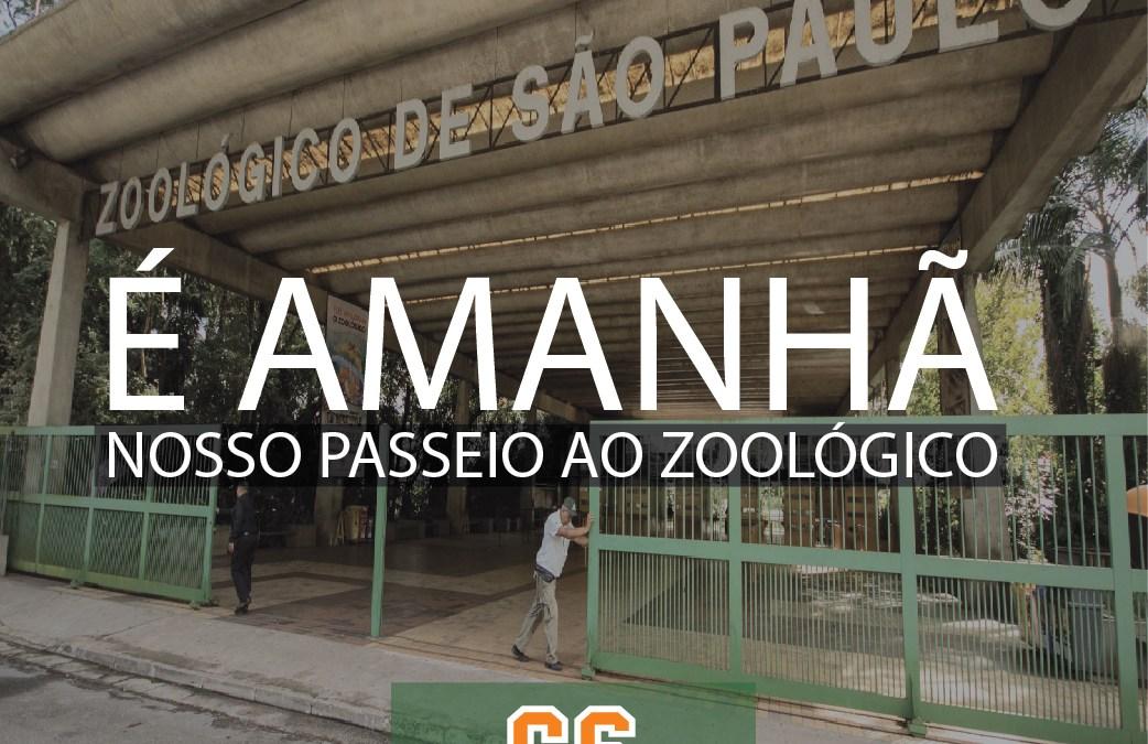 CHEGANDO PASSEIO ZOOLÓGICO