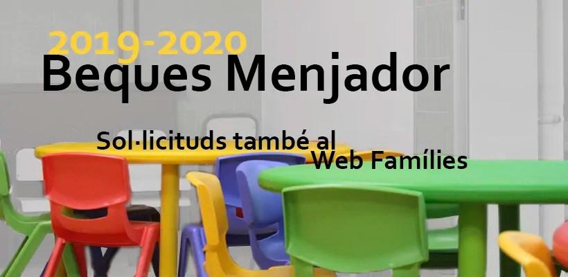 CONVOCATORIA BECAS COMEDOR 2019/20 – Colegio Virgen de las ...