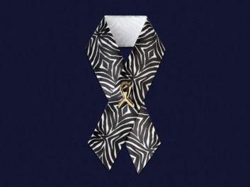Satin Ribbon Pin: $1.00