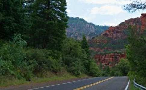 Sedona first red rock
