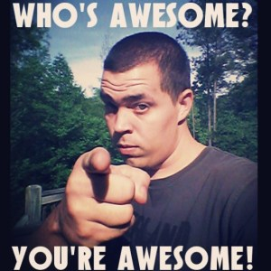 You're-awesome!