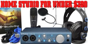 Home Studio Setup For Under $300