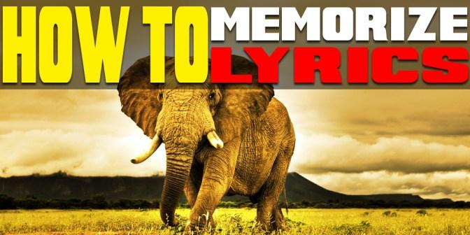 how_to_memorize_lyrics