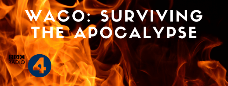 Click the image of fire to listen to the Cole Moreton radio programme Waco: Surviving The Apocalypse
