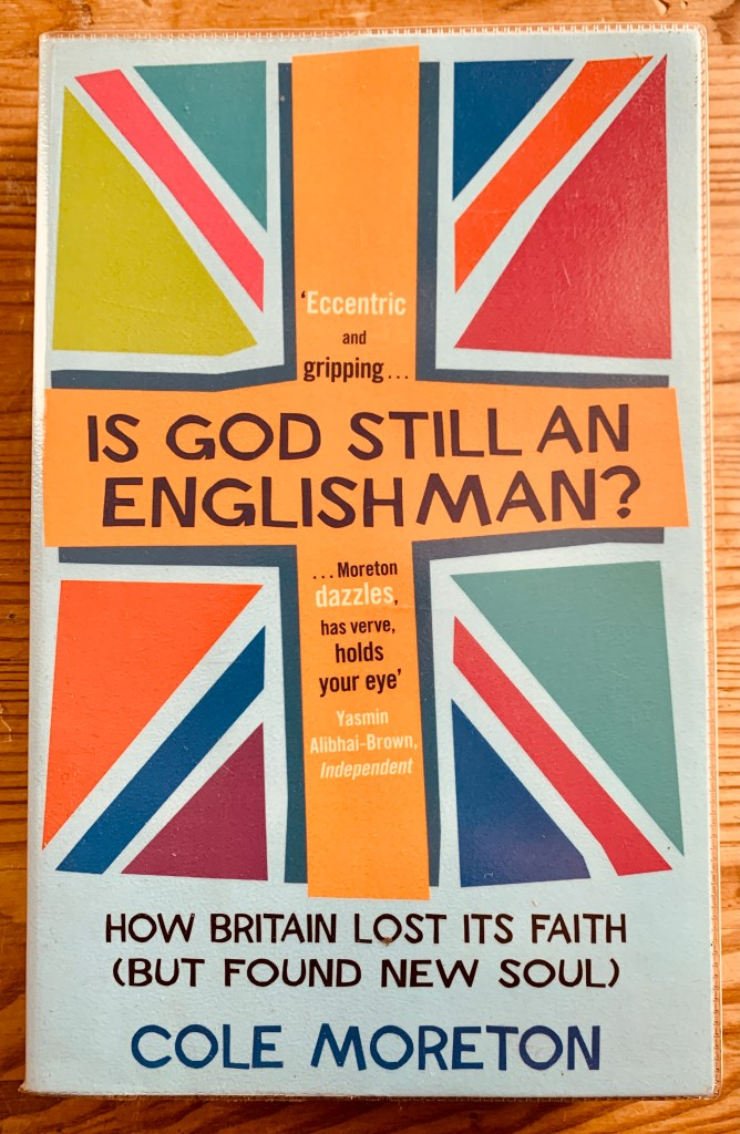 Is God Still An Englishman cover books by cole moreton