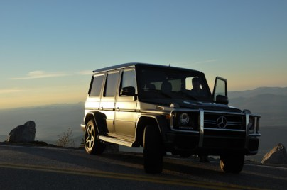 The Mercedes G Wagon.