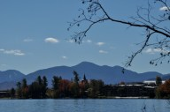 Mirror Lake - in the town of Lake Placid