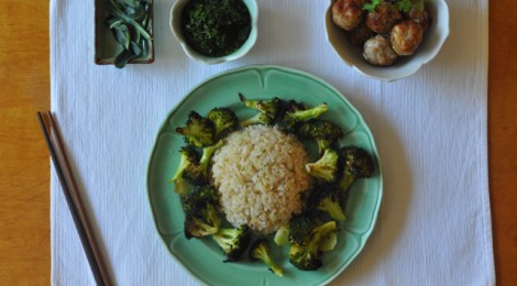 Simple Broccoli and Rice