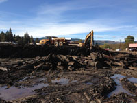 Rehab of former lumber mill brownfield