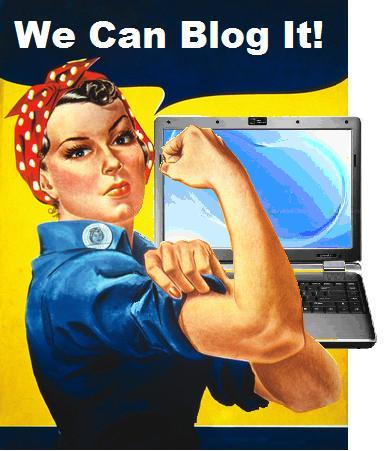 Rosie the Blogger by Mike Licht