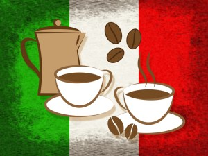 Italy, percolator coffee pot, kitchen staple