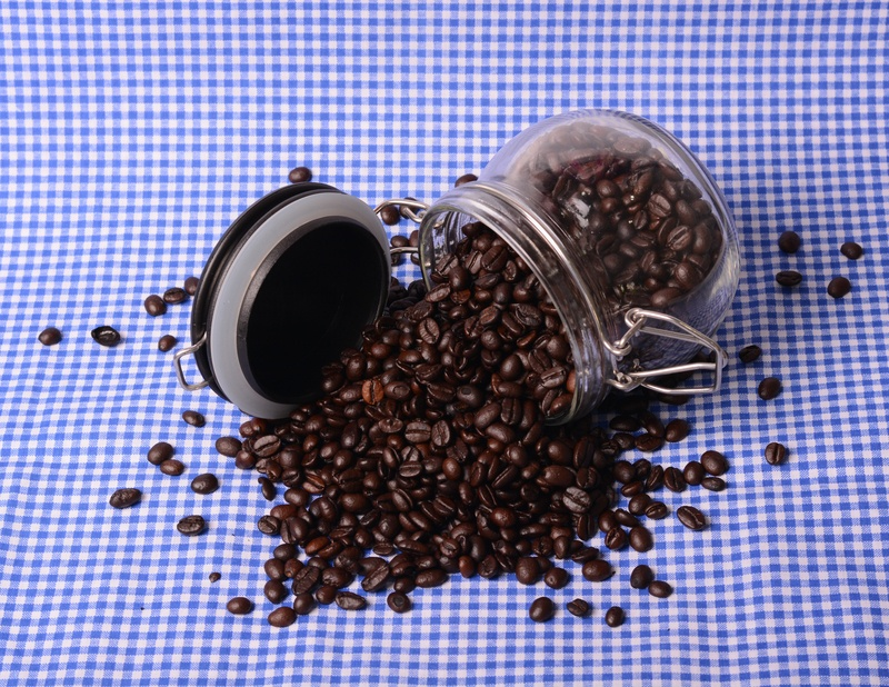 Coffee Beans Spilling from Airtight Jar: How to Store Your Coffee by Coletti Coffee
