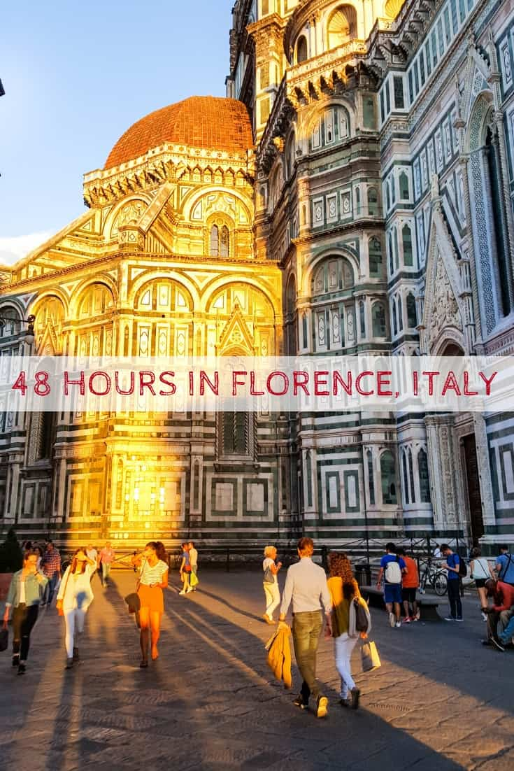 48 Hours in Florence, Italy   Where to eat, drink and stay for a short trip to Florence, Italy! Ultimate Florence Travel Guide! #Florence #tuscany #Italy #travel #italian #Firenze #bistecca #toscana #Italia