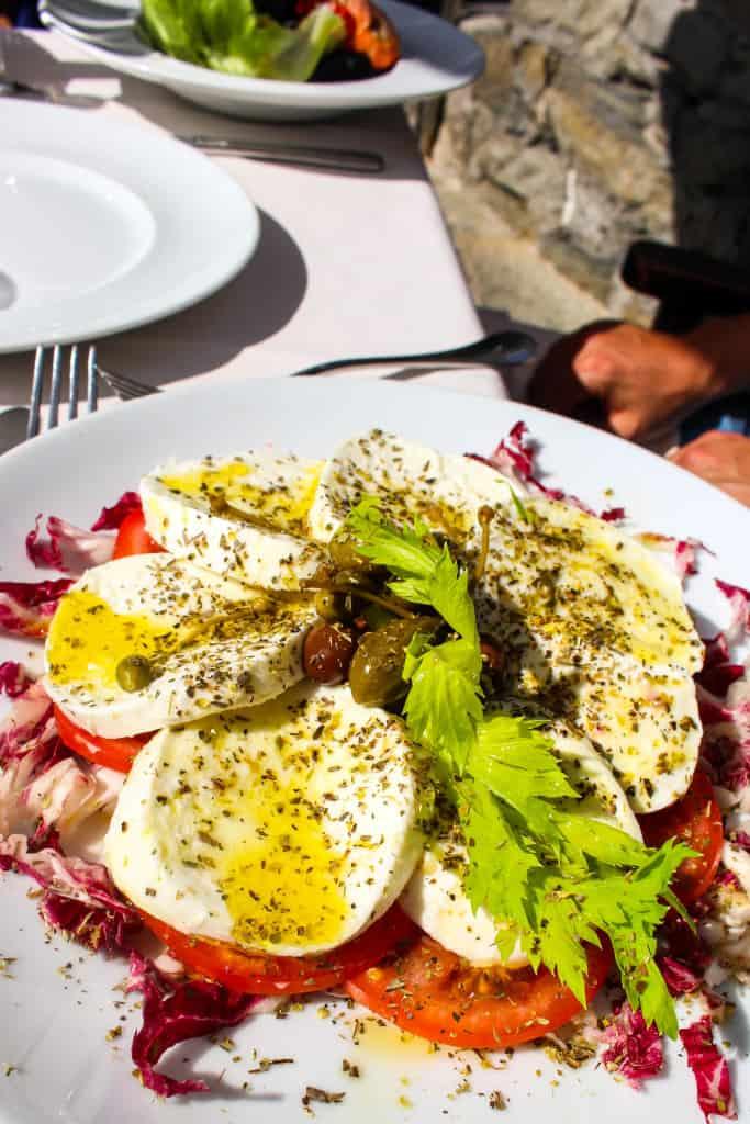 Caprese Salad in Vernazza, Cinque Terre, Italy
