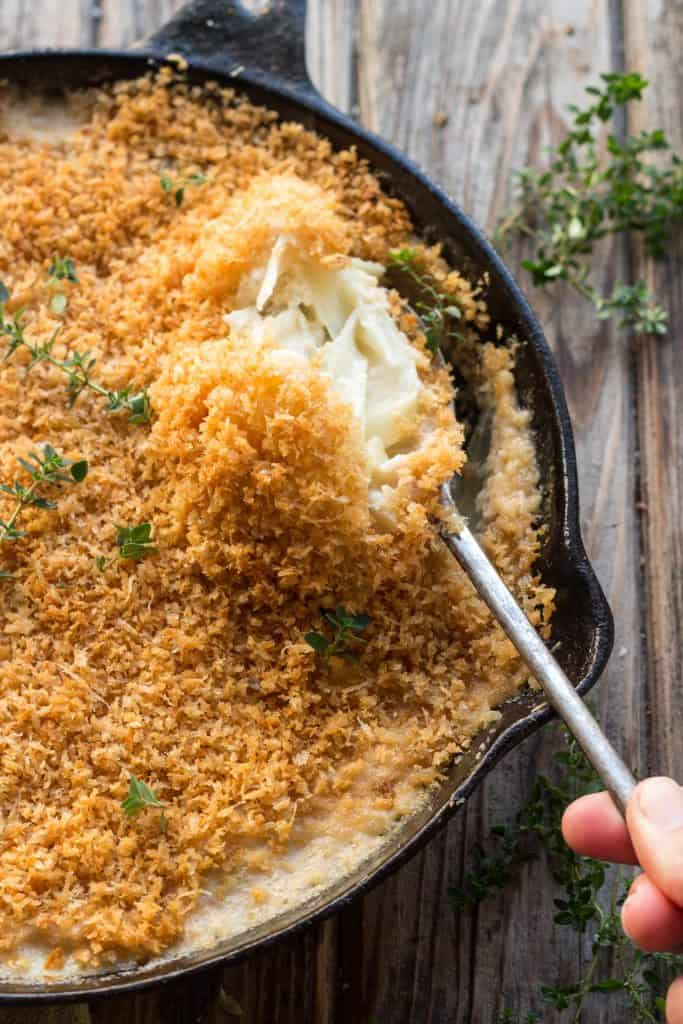 Fennel + Onion Gratin - Awesome Thanksgiving Side!