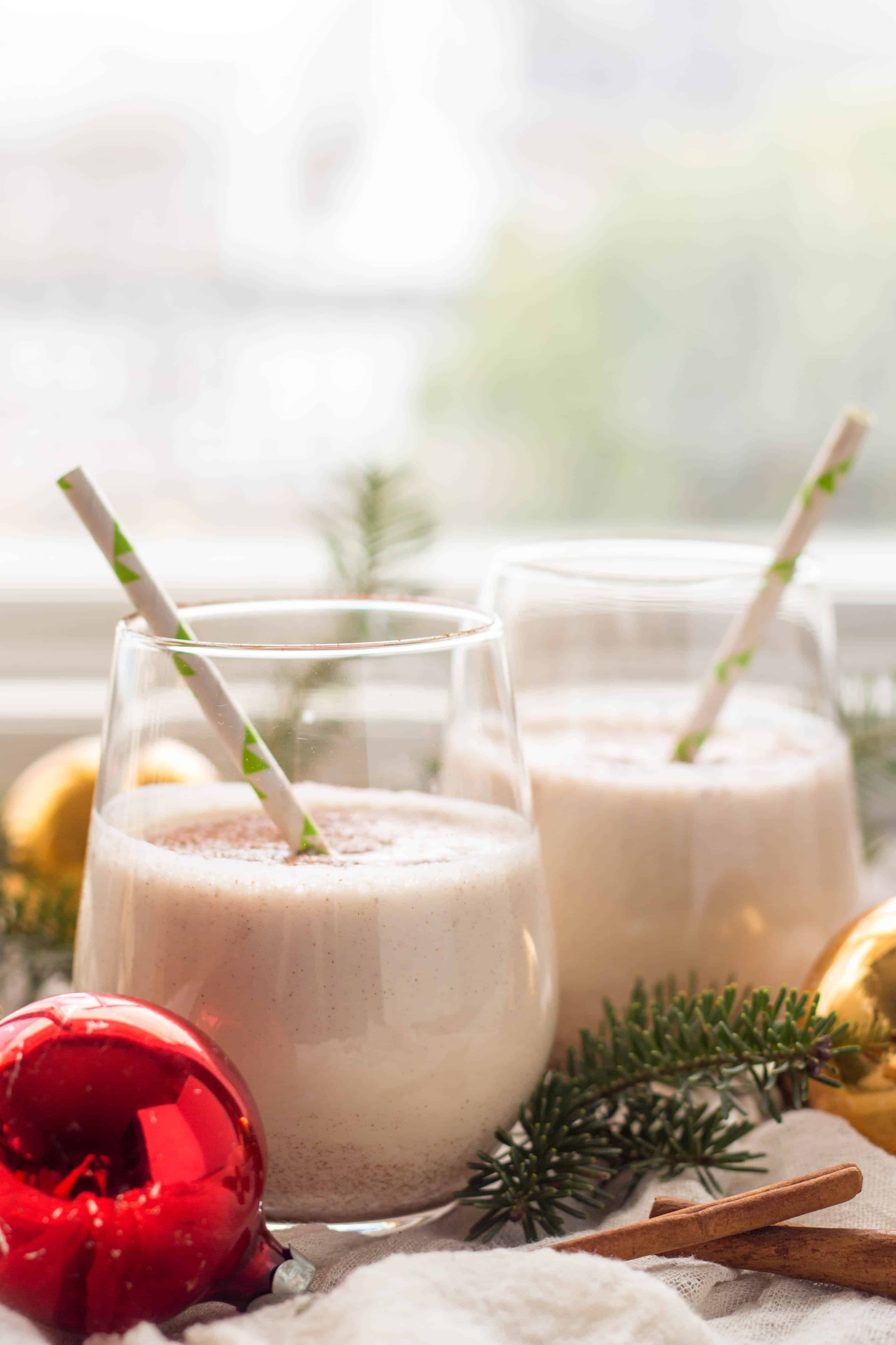 "COQUITO | Known as ""Puerto Rican Egg Nog"" this strong, sweet and spiced coconut rum drink is my absolute favorite at Christmas! 